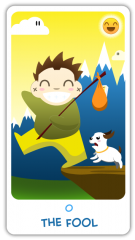 The Chibi Tarot - The Fool