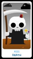 Chibi Tarot - Major Arcana - XIII Death