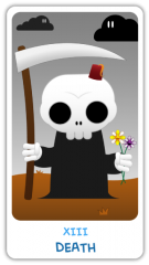 The Chibi Tarot - Death