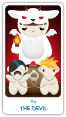 The Chibi Tarot - The Devil