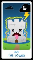 Chibi Tarot - Major Arcana - XVI The Tower