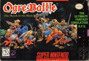 Ogre Battle Video Game Cover