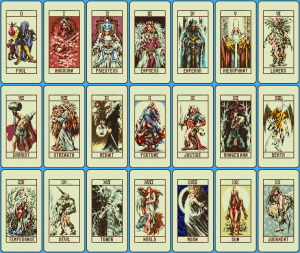 Ogre Battle Tarot Cards
