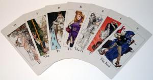 ogre battle december of the black queen tarot cards