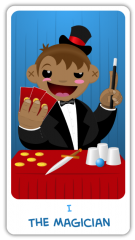 The Chibi Tarot - The Magician