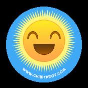 ChibiTarot.com Promo Sticker 01 - The Sun!