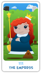 The Chibi Tarot - The Empress