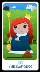 The Chibi Tarot - The Empress