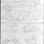 Chibi Tarot - Sketches - Wheel of Fortune 05