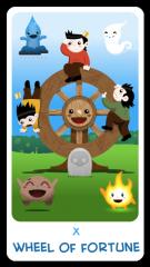 The Chibi Tarot - The Wheel of Fortune