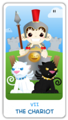 The Chibi Tarot - The Chariot