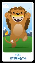 The Chibi Tarot - Strength