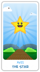 The Chibi Tarot - The Star