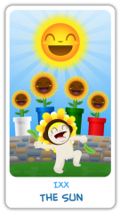 The Chibi Tarot - The Sun
