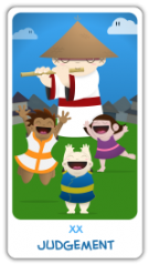 The Chibi Tarot - Judgment
